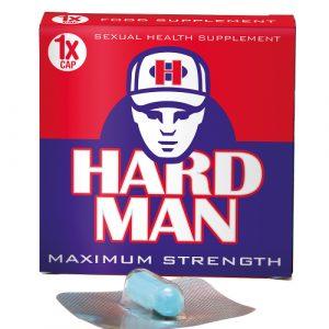 Hard Man Potenciador Sexual 1 Cápsula